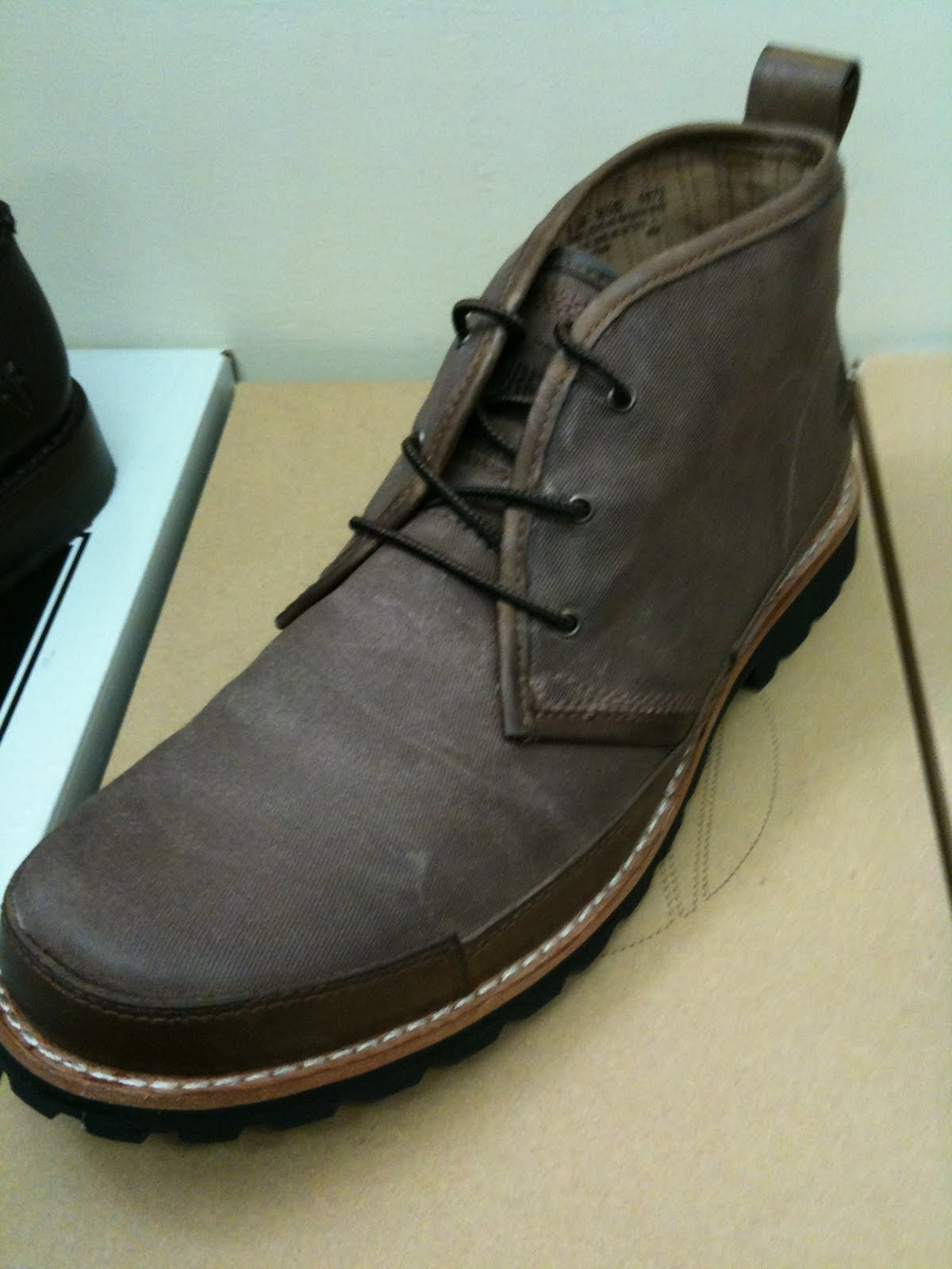 My Christmas Shoes Review: The Timberland